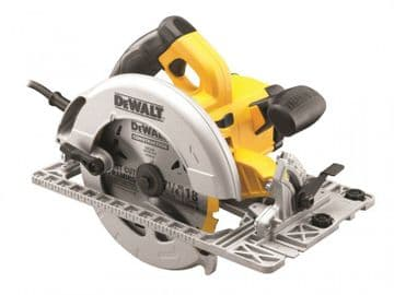 DWE576K Precision Circular Saw & Track Base 190mm 1600W 240V
